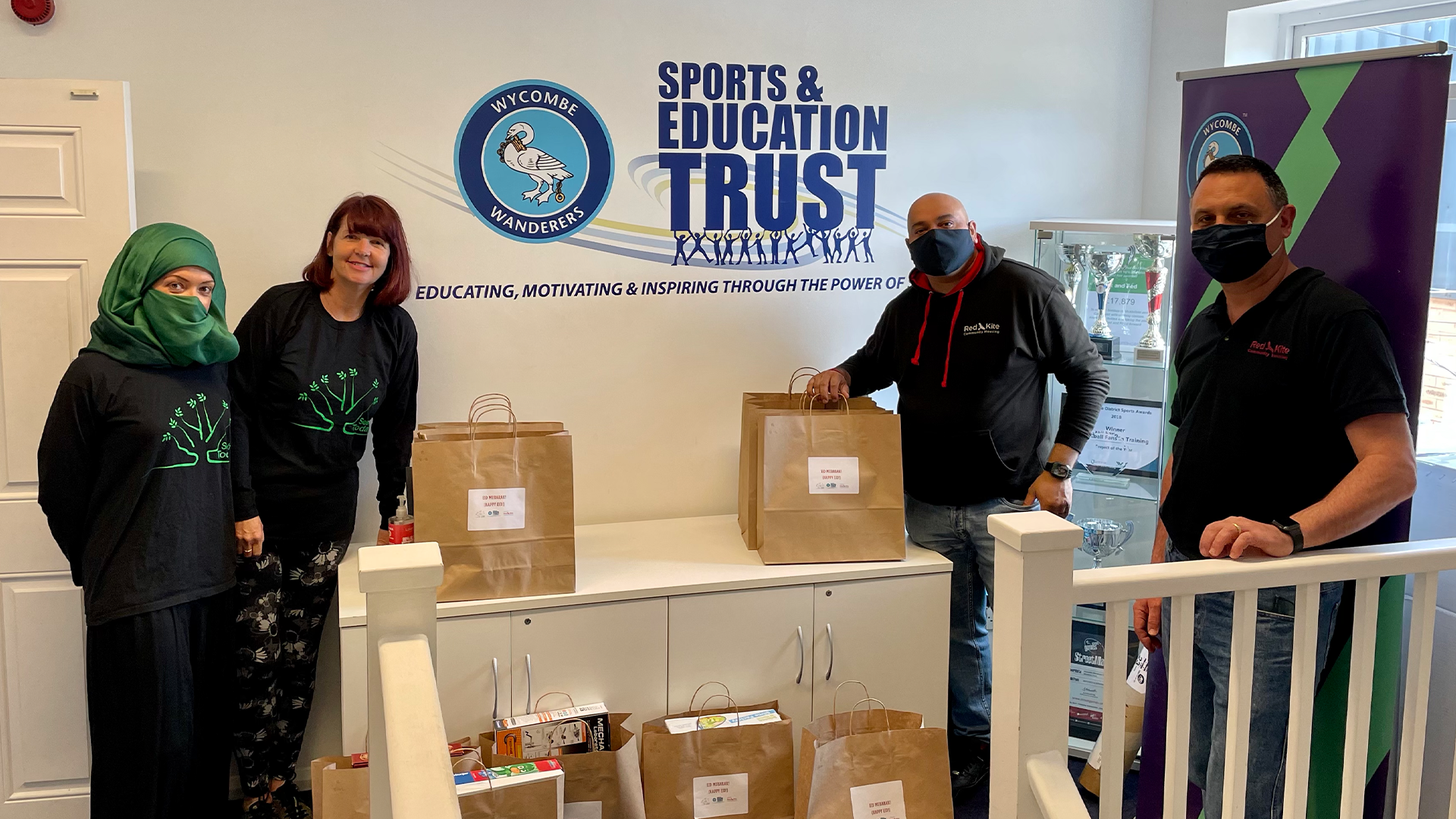 Wycombe Wanderers Sports & Education Trust Partner with Seerah Today During Ramadan
